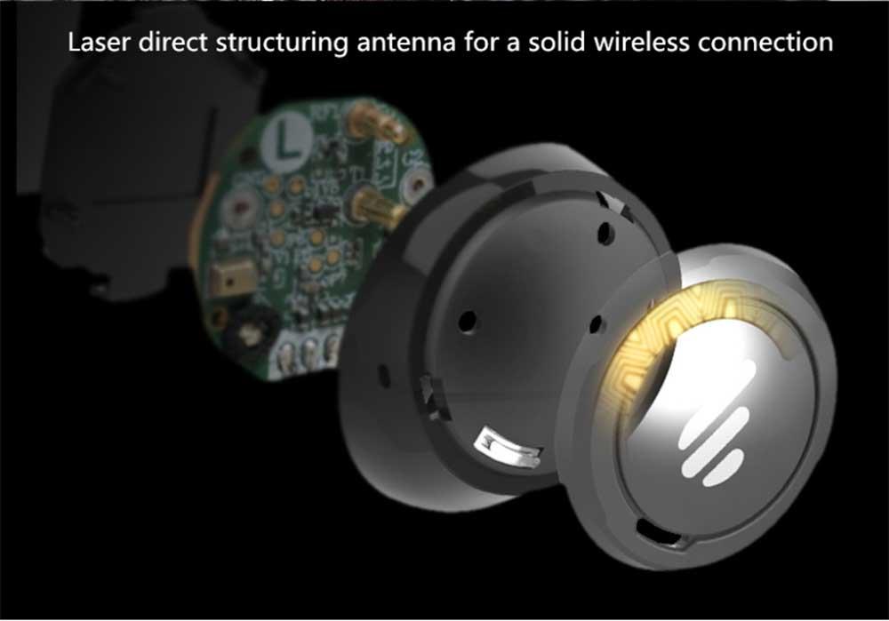 Edifier TWS5 Bluetooth 5.0 CVC 8.0 TWS Earbuds Qualcomm QCC3026 aptX Unilateral Use IPX5