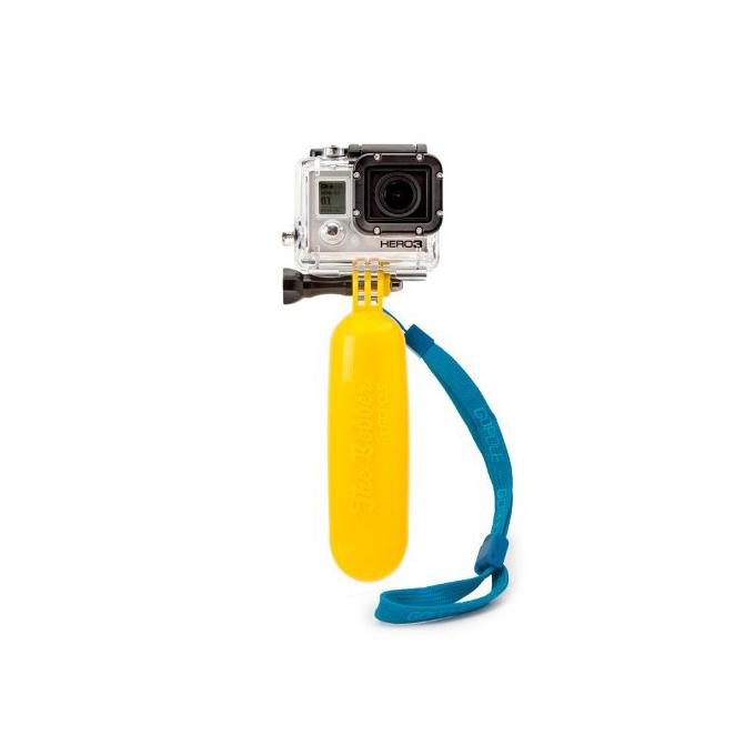 Floating Hand Grip Handle Mount Accessory GoPro Hero HD 1 / 2 / 3 / 4 KEECOO Xiaomi Xiaoyi SJCAM Action Cameras - Yellow