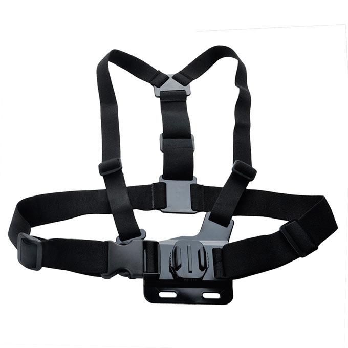DZ-311 360 Degrees Turn Model Chest Band Belt Mount Harness Suitable Backpack Strap GoPro Hero 4/3/2/1 SJ Series Cameras