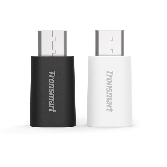 Tronsmart [2 Pack] USB 3.0 Type-C Male Micro USB Female Adapter Type-C Supported Devices