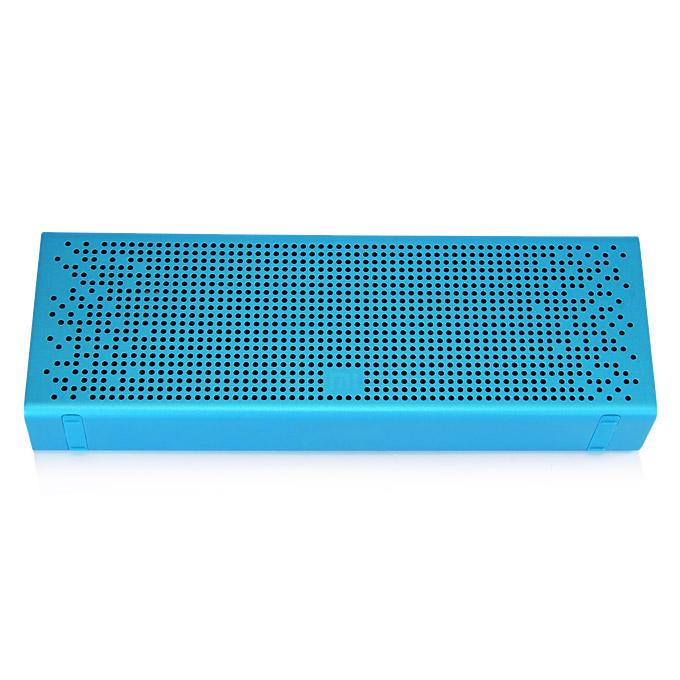 Original Xiaomi Metal Box BT4.0+EDR Speaker 2.4GHZ-2.48HZ Mini Portable Stereo Wireless Connection Handsfree - Blue