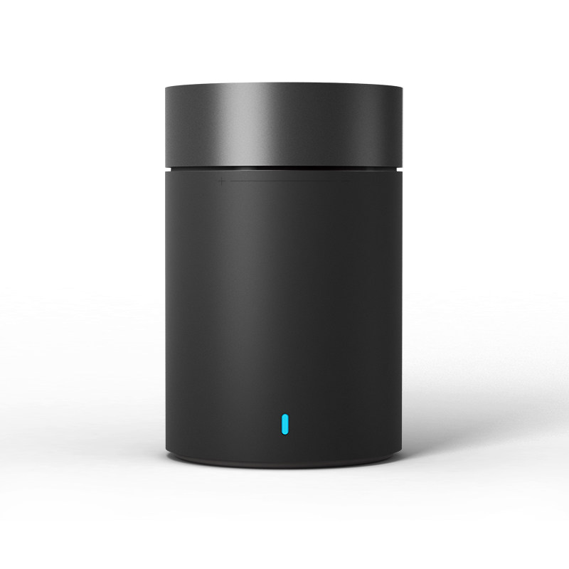 XIAOMI Cylindrical Metallic Wireless Bluetooth Speaker II  BT4.1 Handsfree MIC Mini Speaker - Black