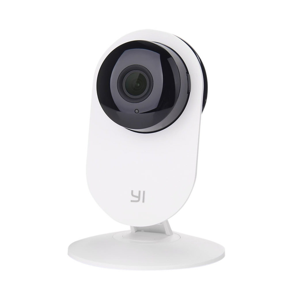 E.U. Edition YI® Home Camera HD 720p Smart WiFi IP Camera Night Vision/ Motion Detection/ Video Monitor IP/ Network Surveillance/ Home security - White