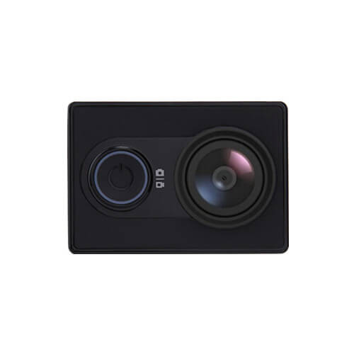US Edition Xiaoyi Yi Action Camera Xiaoyi Z23L Sports Camera WiFi BT4.0 16MP Ambarella A7LS 2Kp30 1080p60 155 Degree Wide Lens International Version - Black
