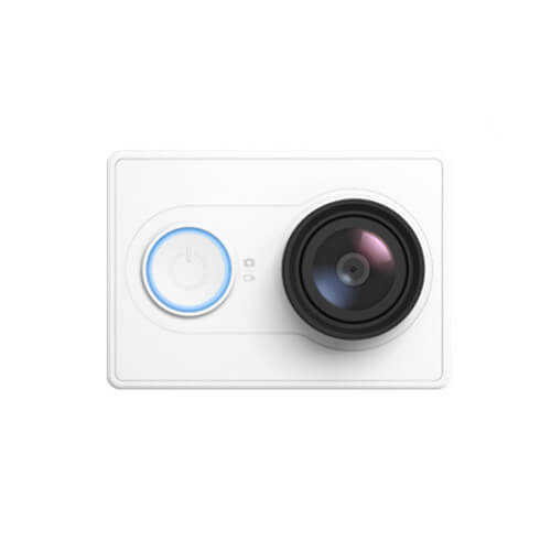 US Edition Xiaoyi Yi Action Camera Xiaoyi Z23L Sports Camera WiFi BT4.0 16MPSony Sensor Ambarella A7LS 2Kp30 1080p60 HD 155 Degree Wide Lens International Version - White