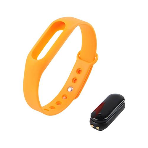 C6 Bluetooth 4.0 Smart Bracelet Heart Rate Monitor Sleep Tracker Call/SMS Reminder Anti-lost IP65 Waterproof Android iOS - Orange