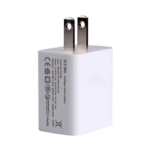 Original Elephone Blitz US Plug Power Adapter Qualcomm Certification 3.0 Quick Charge Wall Charger - White
