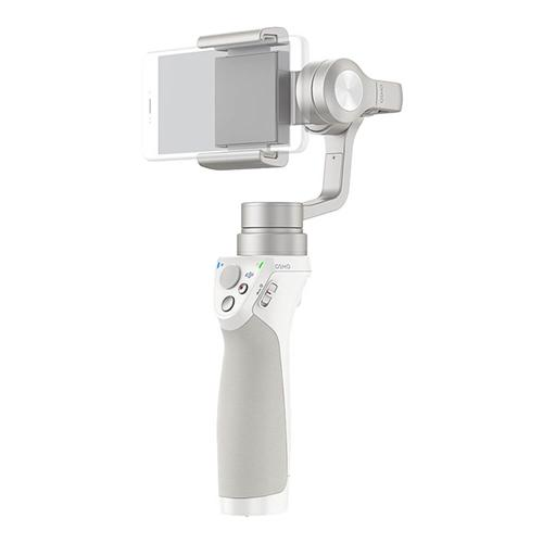 DJI Osmo Mobile Silver 3-Axis Brushless Handle Gimbal Stabilizer Smartphones - White