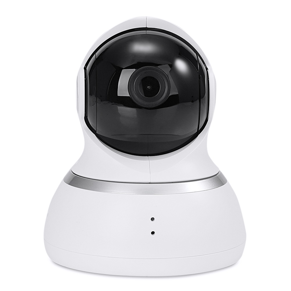 Original Xiaoyi YI 1080p Dome Camera Home Security System WiFi IP Camera 360 Degree Rotation Night Vision Motion Detection Two-way - White(US Plug)