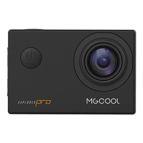 MGCOOL Explorer Pro 4K 30fps Sports Camera Allwinner V3 Sony IMX179 6G Sharkeye Lens Time Lapse - Black