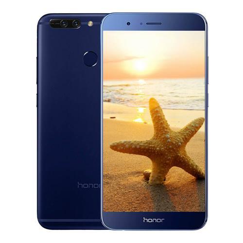 HUAWEI Honor V9 5.7 Inch Smartphone 2K Screen 12.0MP+12.0MP Dual Rear Cam 4GB 64GB Hisilicon Kirin 960 Octa Core  Android 7.0 OTA NFC - Blue