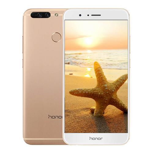 HUAWEI Honor V9 5.7 Inch Smartphone 2K Screen 12.0MP+12.0MP Dual Rear Cam 6GB 128GB Hisilicon Kirin 960 Octa Core Android 7.0 OTA NFC - Gold