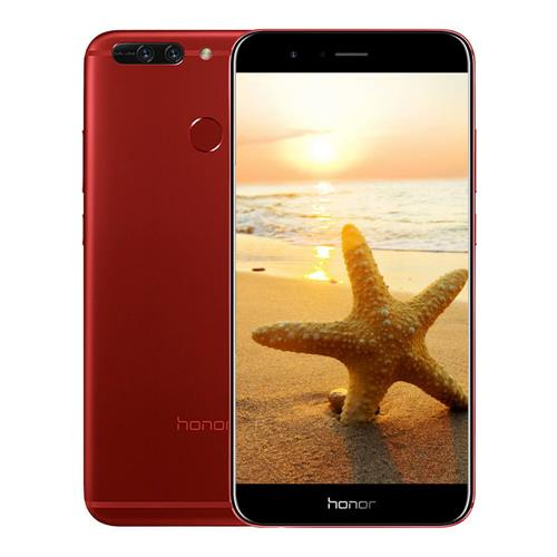 HUAWEI Honor V9 5.7 Inch Smartphone 2K Screen 12.0MP+12.0MP Dual Rear Cam 6GB 128GB Hisilicon Kirin 960 Octa Core Android 7.0 OTA NFC - Red