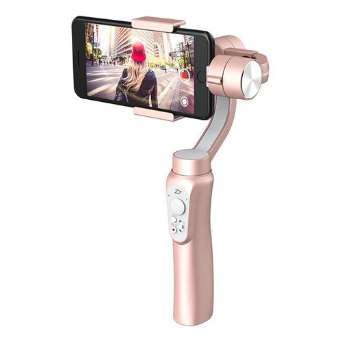 Zhiyun Smooth Q 3-Axis Handheld Brushless Gimbal Smartphone within 6.0 Inch GoPro Hero3/4/5/6 - Rose Gold