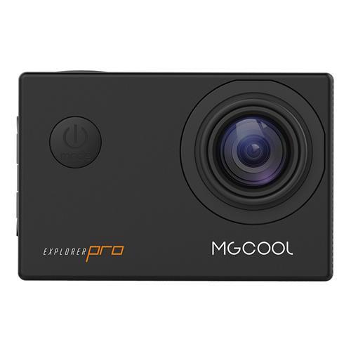 MGCOOL Explorer Pro Action Camera Allwinner V3 4K Sony IMX179 6G Sharkeye Lens 170 Degree Angle Japanese Version - Black