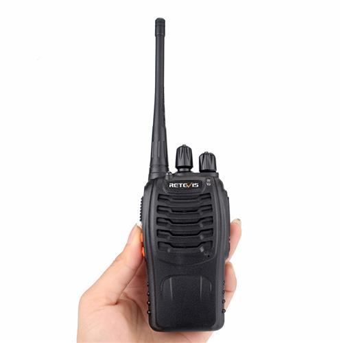 Retevis H-777 Portable Walkie Talkie 16CH UHF Hf Transceiver Two-way CB Radio Comunicador Walk Talkie -Black