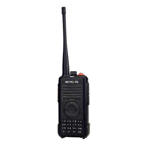 Retevis RT25 Commercial Walkie Talkies 5W UHF 16CH Quick Charger VOX FM Radio Amateur Radio Transceiver -Black