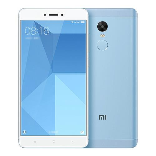 Xiaomi Redmi Note 4X 5.5 Inch Smartphone FHD Screen MIUI 8 4G LTE Snapdragon 625 Octa-core 2.0GHz 4GB RAM 64GB ROM 13.0MP Touch ID 4100mAh Battery Global ROM - Blue