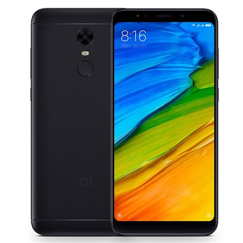 Xiaomi Redmi 5 Plus 5.99 Inch 4G LTE Smartphone 18:9 Full Screen MIUI 9 4GB 64GB Snapdragon 625 Octa Core 12.0MP Cam Touch ID 4000mAh Battery Global Version - Black