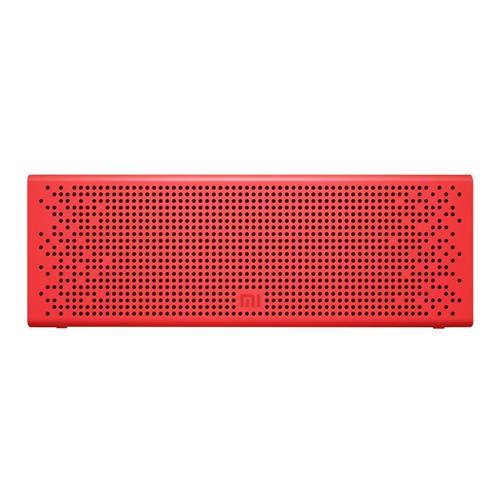 Original Xiaomi Metal Box Speaker Wireless BT4.0 EDR 2.4GHZ-2.48HZ Mini Portable Stereo Handsfree - Red