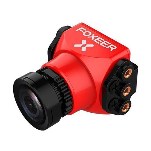 Foxeer Arrow Mini Pro WDR 650TVL 2.5mm 1/3 CCD Sensor Wide Voltage 5-40V OSD FPV Camera PAL - Red