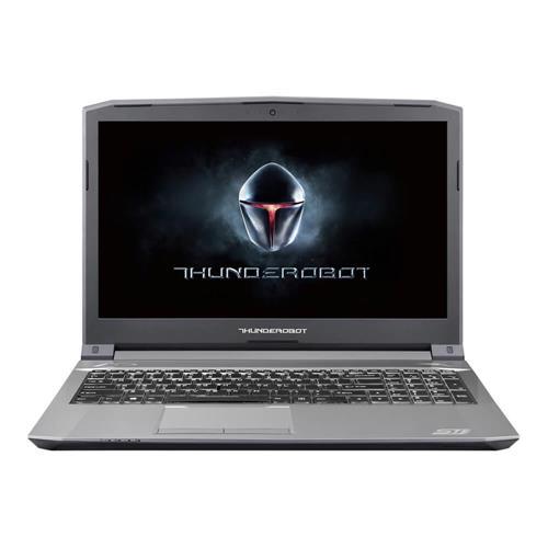 "ThundeRobot ST-Plus Gaming Laptop 15.6"" DOS GTX1050 2GB Intel Core i7 7700HQ Quad Core 3.8GHz 8GB RAM 256GB IPS Screen 1920*1080 Backlight Keyboard - Gray"