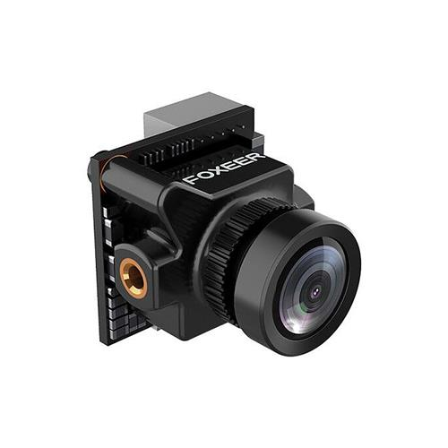 Foxeer Predator Micro Super WDR 1000TVL 2.5mm 4:3 Wide Voltage 5-40V OSD FPV Camera PAL - Black