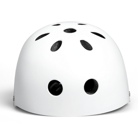 Original Xiaomi Mijia Qicycle Safety Helmet Kids Adjustable Breathable Ventilation Design - White
