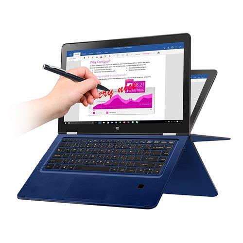 VOYO VBook V3 13.3 Inch Notebook Windows 10 Intel Core i7-7500U 3.1GHz 16GB RAM 512GB ROM Dual Core 12000mAh Bluetooth Camera Wifi - Blue