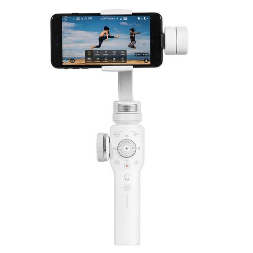 Zhiyun Smooth 4 3-Axis Brushless Handheld Gimbal Stabilizer Smartphone - White