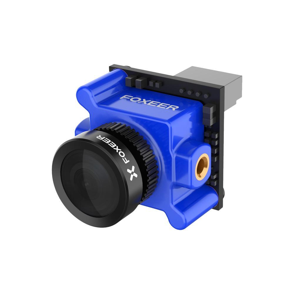 "Foxeer Monster Micro Pro WDR 1200TVL 1.8mm 1/2.9"" CMOS Sensor 16:9 5-40V Wide Voltage FPV Camera N/P Switchable - Blue"