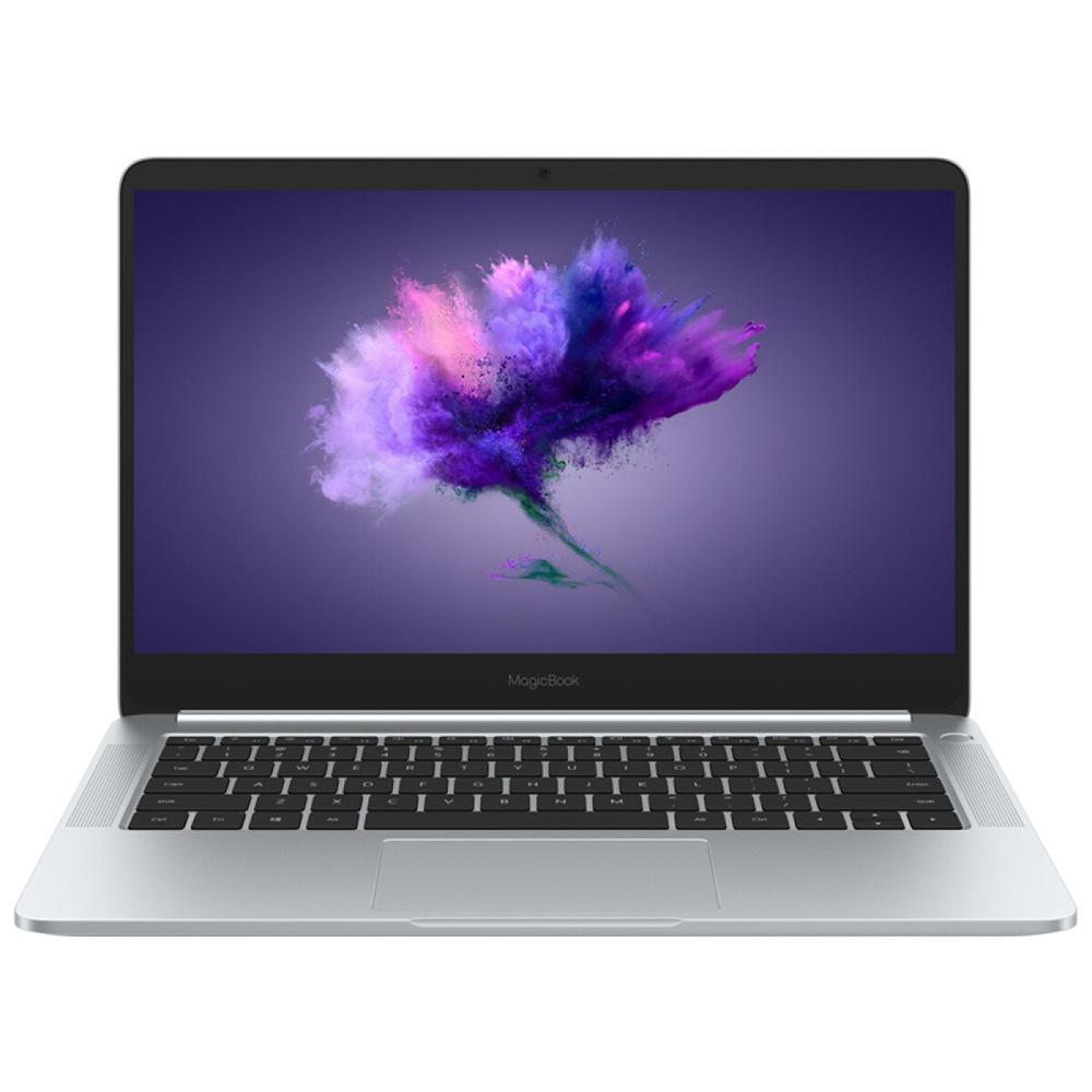 "HUAWEI Honor Magicbook laptop Intel Core i7-8550U Quad Core GeForce MX150 2GB DDR5 14"" IPS Screen 1920*1080 8GB DDR3 256GB SSD - Silver"