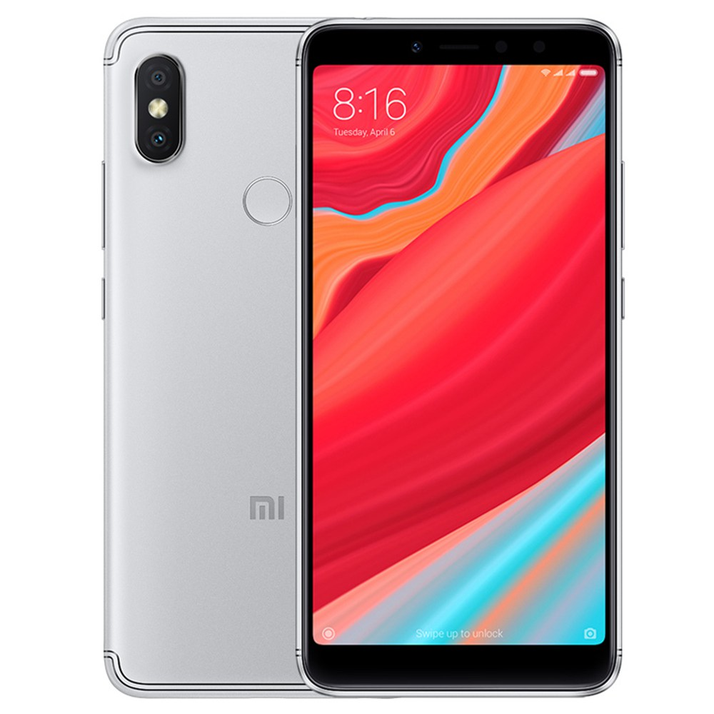 Xiaomi Redmi S2 5.99 Inch 4G LTE Smartphone Snapdragon 625 4GB 64GB 12.0MP+5.0MP Dual Rear Cameras MIUI 9 18:9 Full Screen Touch ID - Gray