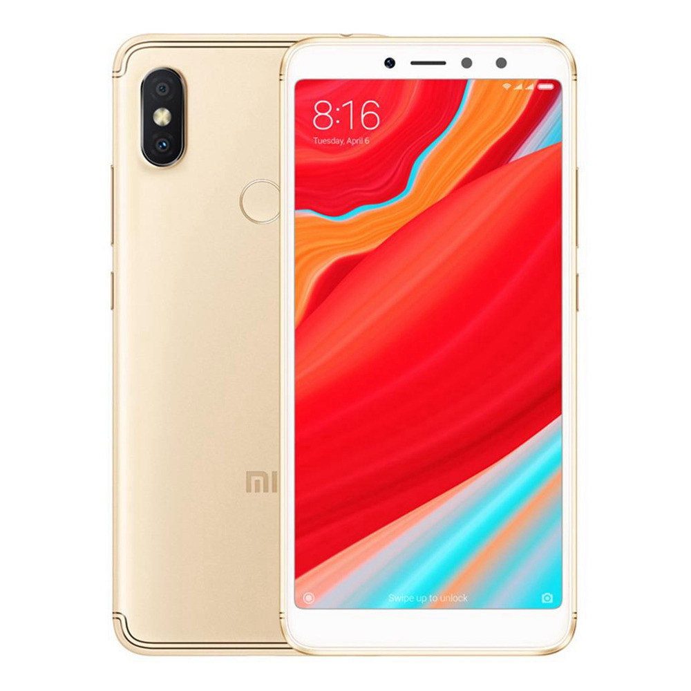 Xiaomi Redmi S2 5.99 Inch 4G LTE Smartphone Snapdragon 625 4GB 64GB 12.0MP+5.0MP Dual Rear Cameras MIUI 9 18:9 Full Screen Touch ID Global Version - Gold