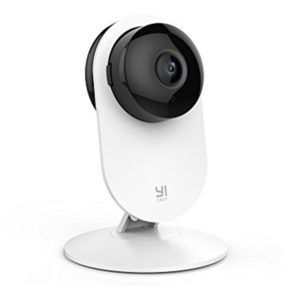 2 PCS YI Home Camera HD 1080p Xiaoyi Smart WiFi IP Camera Night Vision/ Motion Detection/ Video Monitor IP/ Network Surveillance/ Home security - White