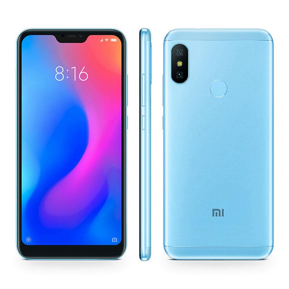Xiaomi Mi A2 Lite 5.84 Inch Full Screen 4G LTE Smartphone Snapdragon 625 4GB 64GB 12.0MP+5.0MP Dual Rear Cameras Android 8.1 4000mAh Touch ID Global Version - Blue