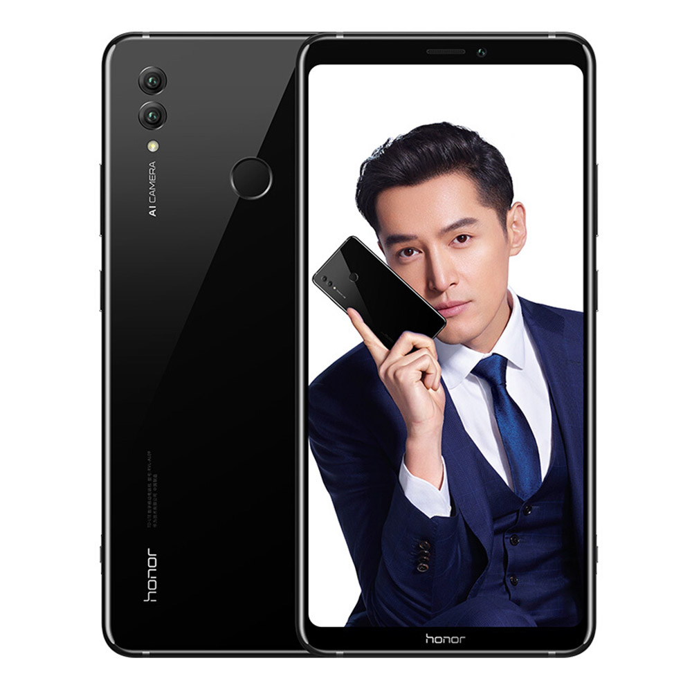 HUAWEI Honor Note 10 CN Version 6.95 Inch 4G LTE Smartphone Kirin 970 6GB 64GB 24.0MP+16.0MP Dual Rear Cameras Android 8.1 Type-C Fast Charge NFC - Black