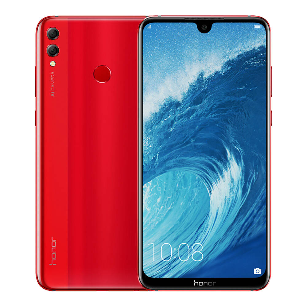 HUAWEI Honor 8X Max 7.12 Inch 4G LTE Smartphone Snapdragon 636 4GB 128GB 16.0MP+2.0MP Dual Rear Cameras Android 8.1 Touch ID Fast Charge 5000mAh - Red