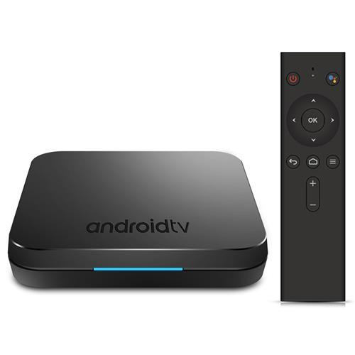 MECOOL KM9 Amlogic S905X2 Android 9.0 4GB DDR4 32GB eMMC 4K TV Box Voice Remote Dual Band WiFi Bluetooth USB3.0 KODI 18.0
