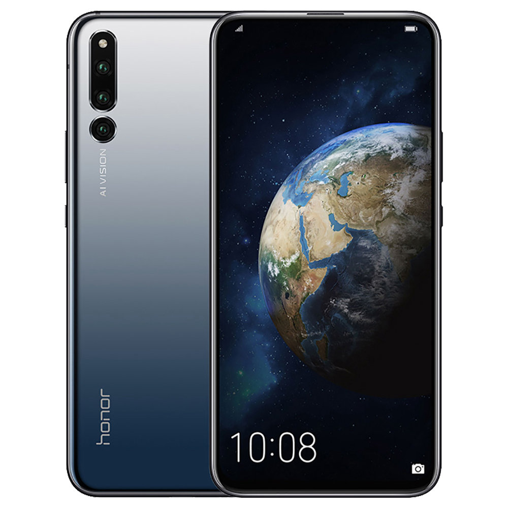 HUAWEI Honor Magic 2 6.39 Inch 4G LTE Smartphone Kirin 980 6GB 128GB 16.0MP+24.0MP+16.0MP Triple Rear Cameras Android 9.0 Type-C NFC In-display Fingerprint - Black