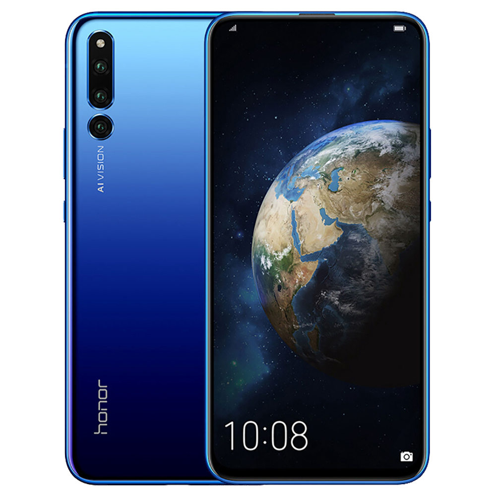 HUAWEI Honor Magic 2 6.39 Inch 4G LTE Smartphone Kirin 980 8GB 128GB 16.0MP+24.0MP+16.0MP Triple Rear Cameras Android 9.0 Type-C NFC In-display Fingerprint - Blue
