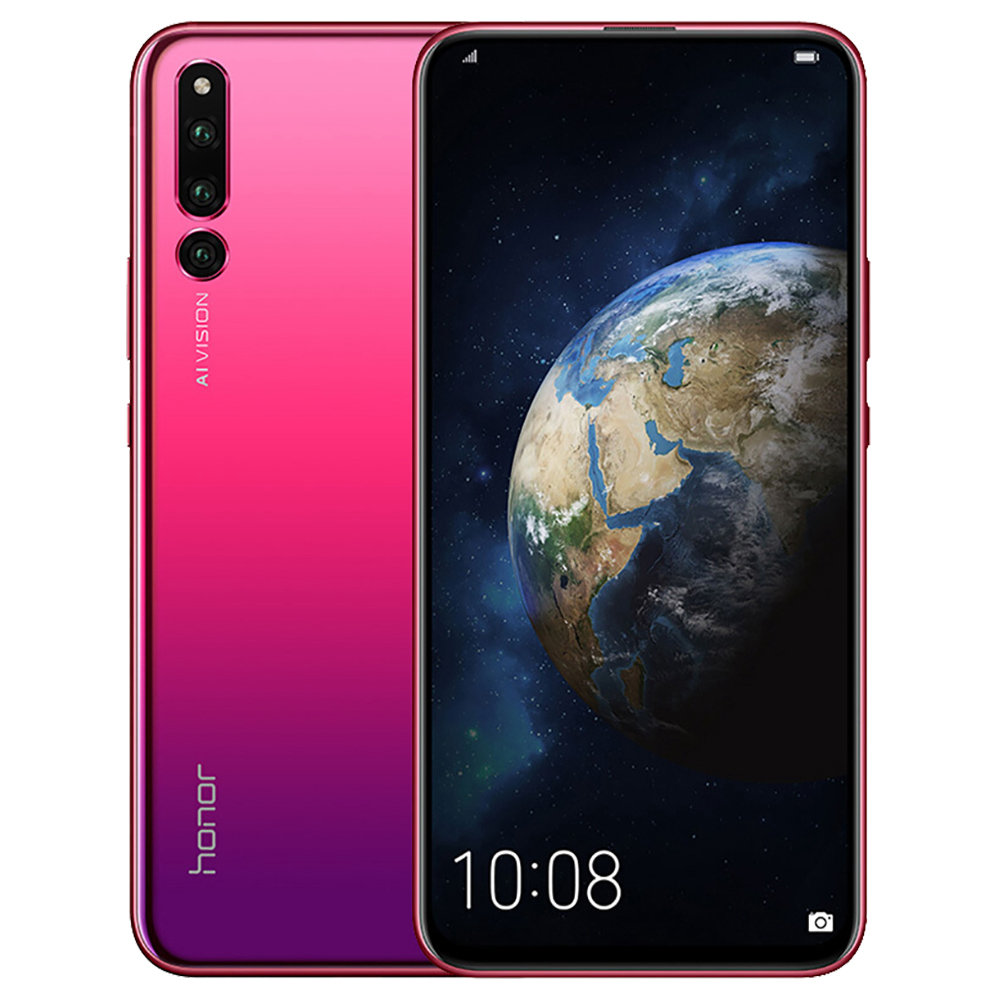 HUAWEI Honor Magic 2 6.39 Inch 4G LTE Smartphone Kirin 980 8GB 128GB 16.0MP+24.0MP+16.0MP Triple Rear Cameras Android 9.0 Type-C NFC In-display Fingerprint - Red