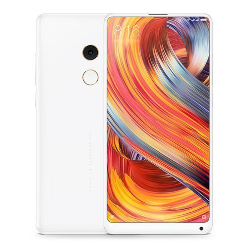 Xiaomi Mi Mix 2 SE 5.99 Inch 4G LTE Smartphone 8GB 128GB 12.0MP Qualcomm Snapdragon 835 Octa Core MIUI 9 OS NFC Ceramic Unibody Global Version - White