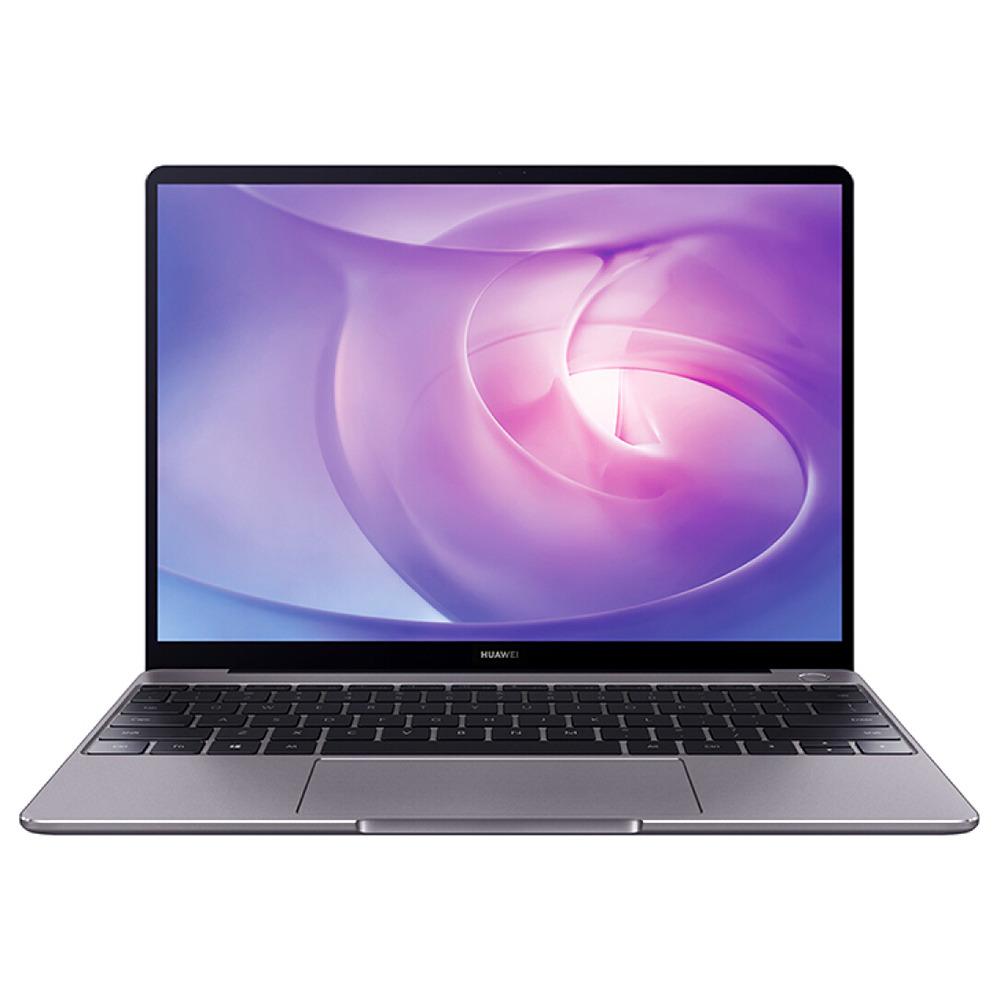 """HUAWEI MateBook 13 laptop Intel Core i7-8565U Quad Core GeForce MX150 2GB DDR5 13"""" IPS Screen 2160x1440 8GB DDR3 512GB SSD - Grey"""