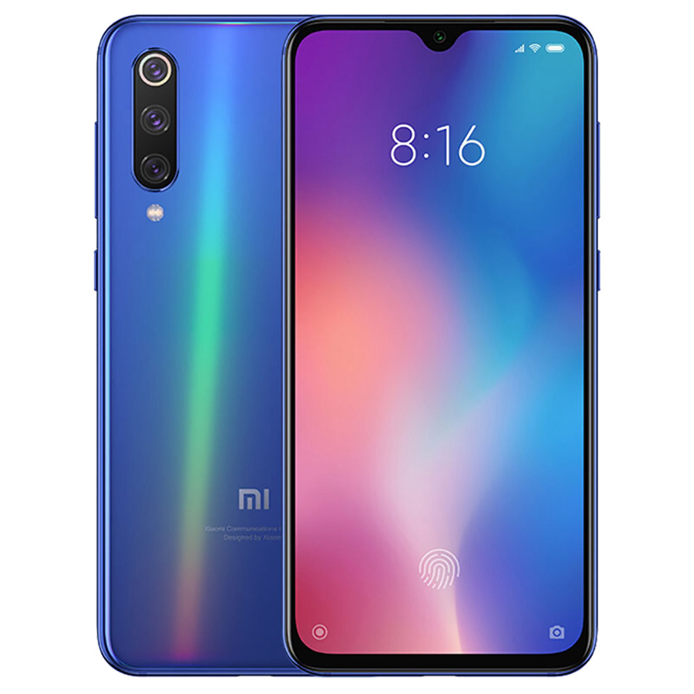 Xiaomi Mi 9 SE 5.97 Inch 4G LTE Smartphone Snapdragon 712 6GB 64GB 48.0MP+8.0MP+13.0MP Triple Rear Cameras MIUI 10 In-display Fingerprint NFC Fast Charge - Blue