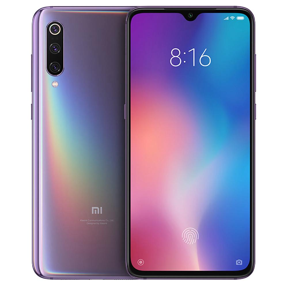 Xiaomi Mi 9 6.39 Inch 4G LTE Smartphone Snapdragon 855 6GB 128GB 48.0MP+12.0MP+16.0MP Triple Rear Cameras MIUI 10 In-display Fingerprint NFC Fast Charge Global Version - Lavender Violet