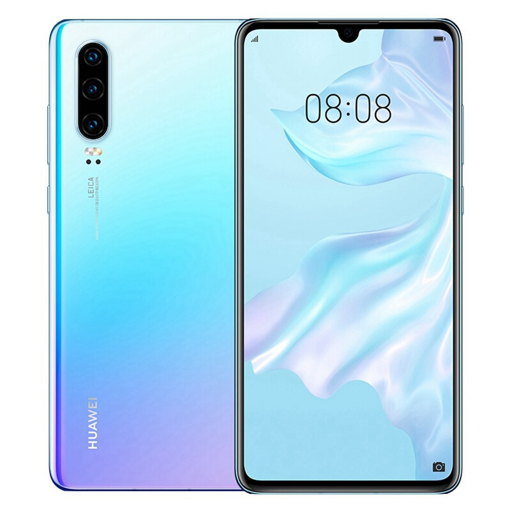 HUAWEI P30 CN Version 6.1 Inch 4G LTE Smartphone Kirin 980 8GB 256GB 40.0MP+16.0MP+8.0MP Triple Rear Cameras Android 9.0 NFC In-display Fingerprint Fast Charge - Breathing Crystal