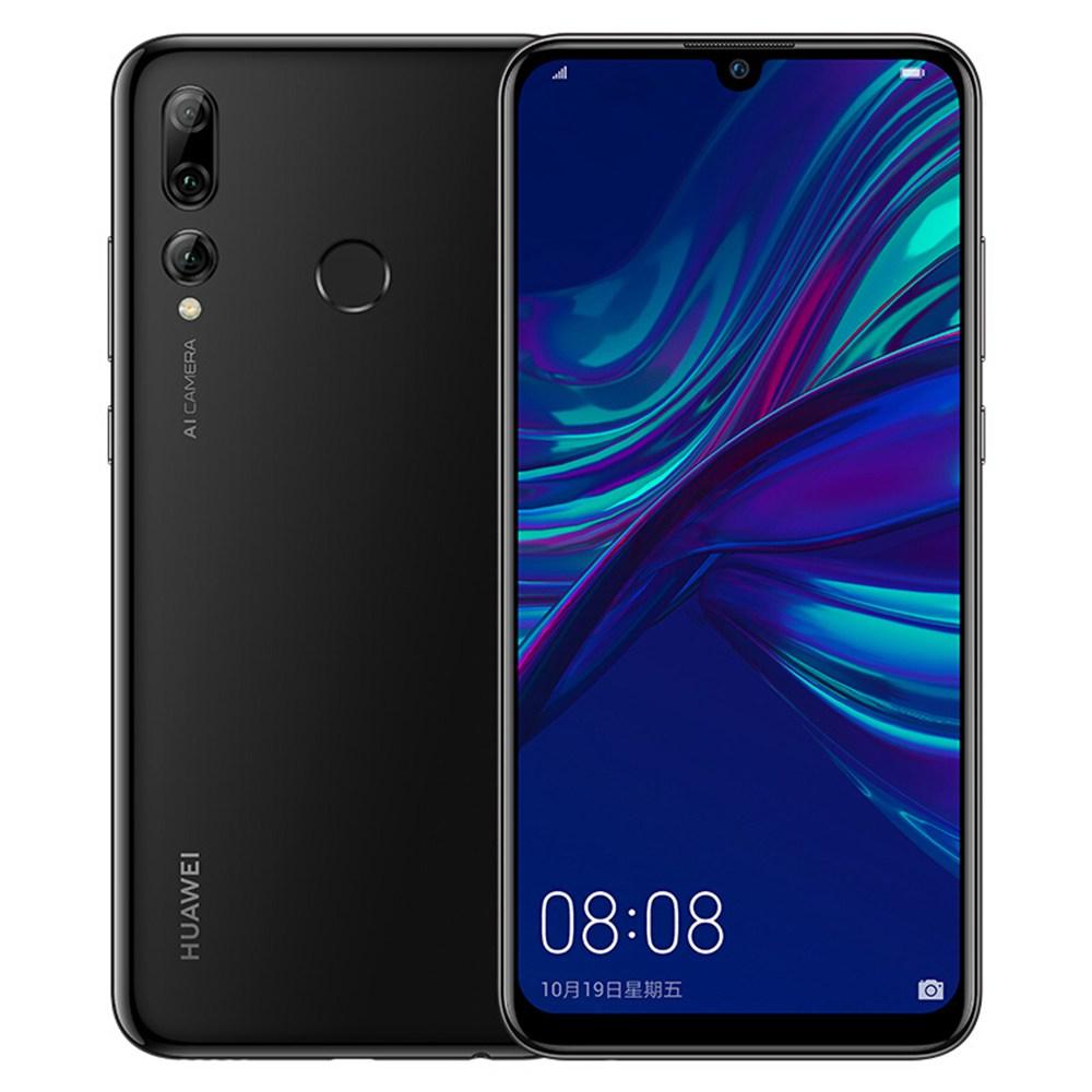 HUAWEI Enjoy 9S CN Version 6.21 Inch 4G LTE Smartphone Kirin 710 4GB 64GB 24.0MP + 16.0MP + 2.0MP Triple Rear Cameras Android 9.0 Touch ID - Black