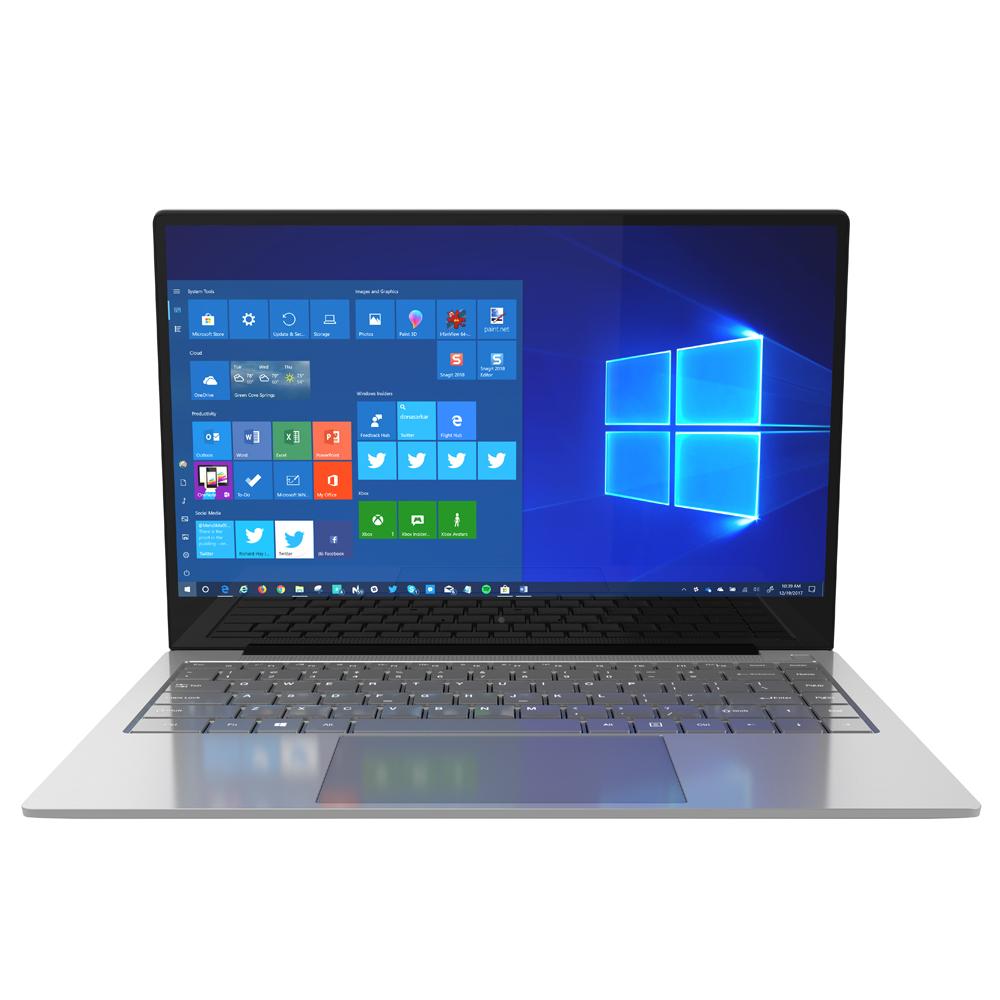 Jumper EZBook X4 Pro Notebook Intel Core i3-5005U Dual-Core 14-Inch 1920*1080 Windows 10 8GB RAM 256GB SSD - Silver