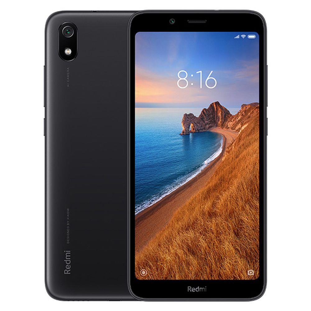 Xiaomi Redmi 7A 5.45 Inch 4G LTE Smartphone Snapdragon SDM439 2GB 16GB 13.0MP Rear Camera MIUI 10 Face ID Global Version - Black